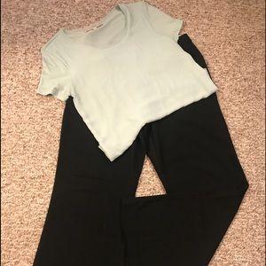 BUNDLE: DRESS PANTS AND TOP
